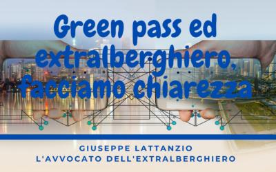 Green Pass ed extralberghiero facciamo chiarezza
